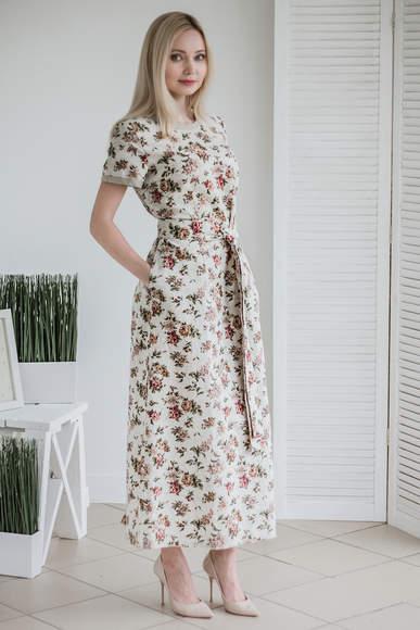 a79a0ab4b76 Купить платье из льна в интернет-магазине