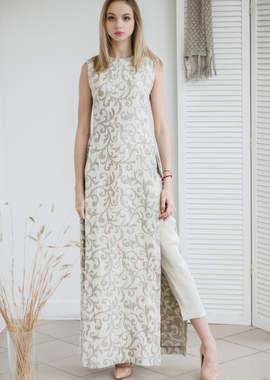 884fe6f37ea8d8a Платье итальянского дизайнера с высокими разрезами