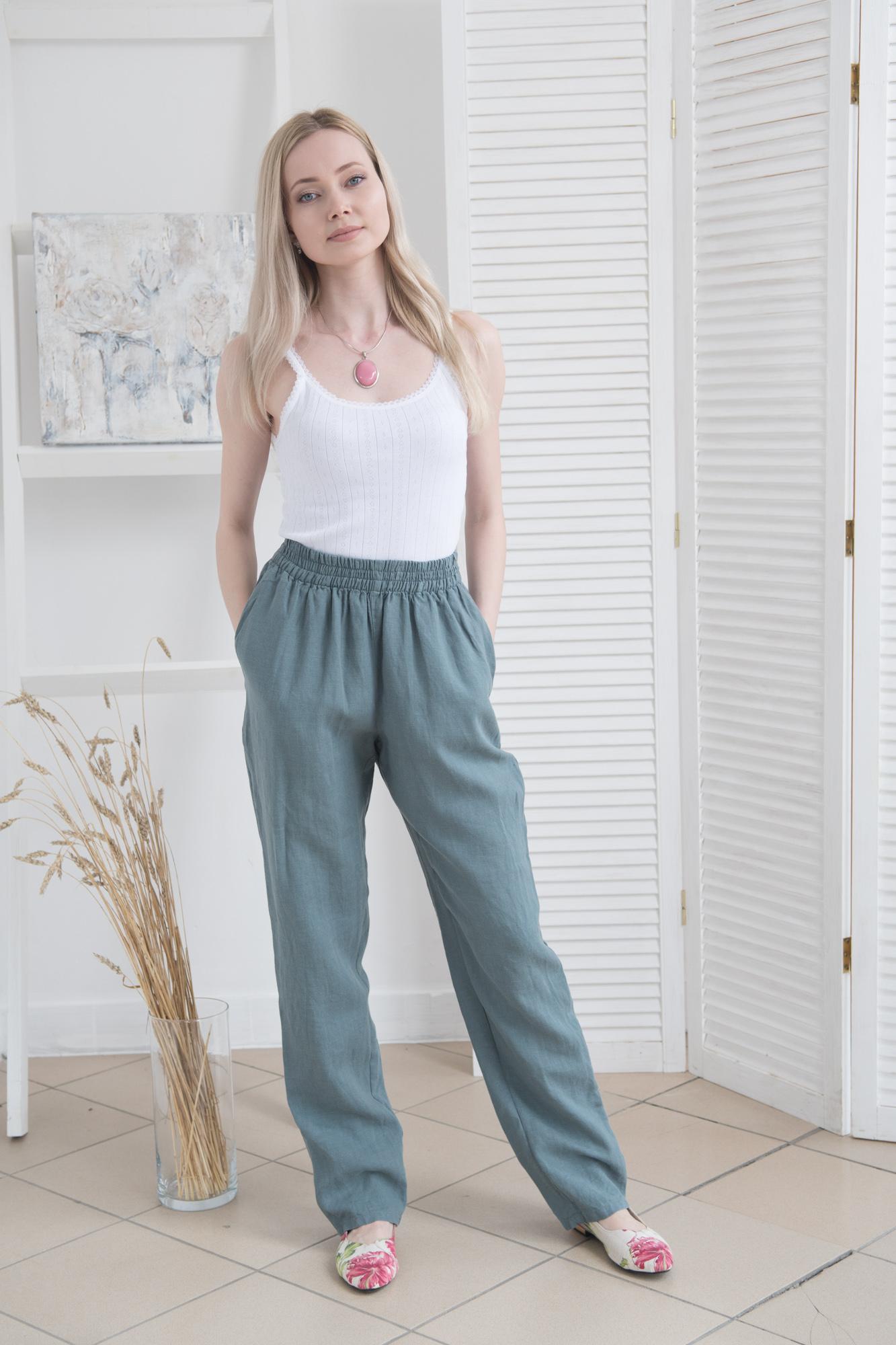 С чем носить льняные брюки. Стиль и удобство в одной вещи (48 фото) | 2000x1333